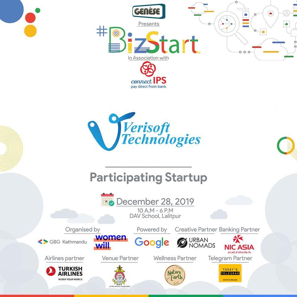 Verisoft's Participation in Bizfest (the largest business fest by Google)